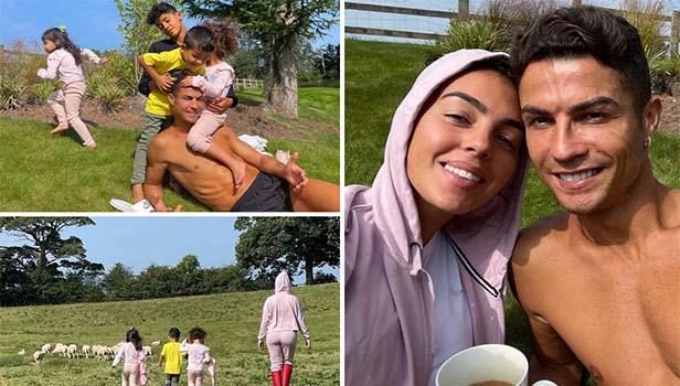 Ronaldo muốn các thành viên gia đình luôn được an toàn ở Manchester